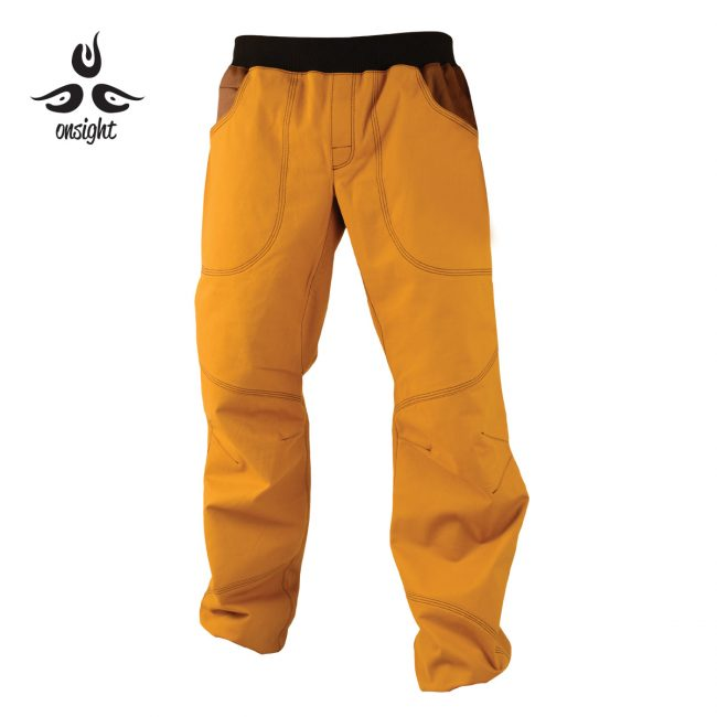 Onsight brown climbing pants