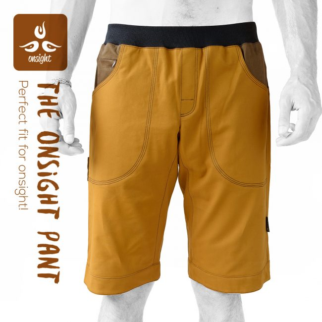 onsight Short Brown Front1