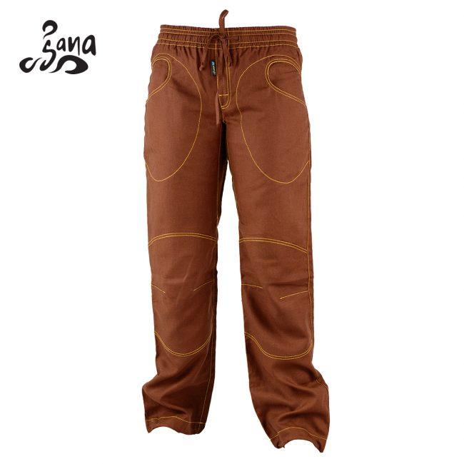 Sana Long Pant Brown Front