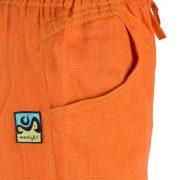 Sana Long Pant Orange Detail