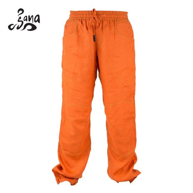 Sana Long Pant Orange Front