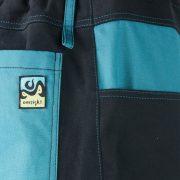Urban Shorts Blue детаил