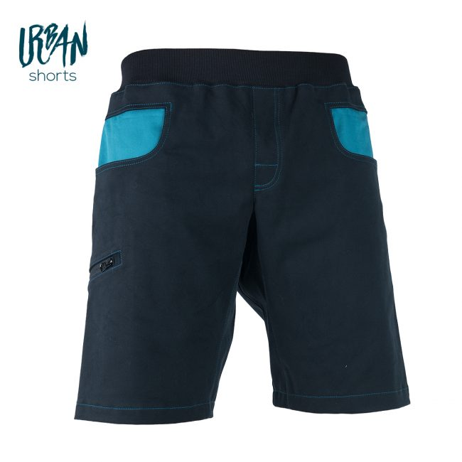 Urban Shorts Blue Front
