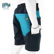 Urban Shorts Blue pocket