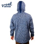 Wool Blue Back